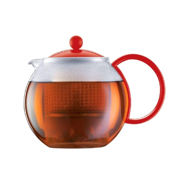 Zaparzacz do herbaty 1 l Bodum Assam czerwony BD-1844-294