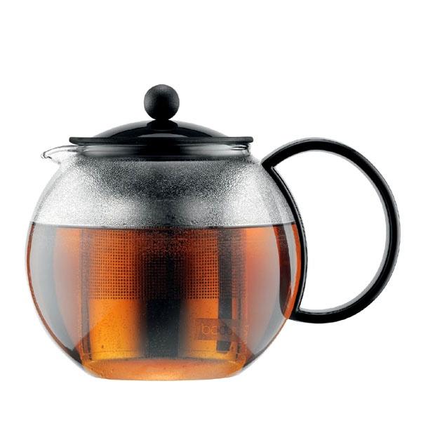 Zaparzacz tłokowy do herbaty 1 l BODUM Assam stalowy BD-1805-01