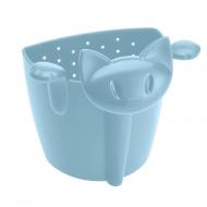 Zaparzaczka do herbaty 7,8cm Koziol Miaou pastelowy błękit