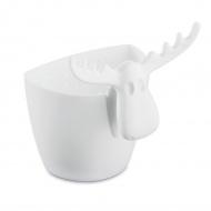 Zaparzaczka do herbaty 9cm Koziol Rudolf biała
