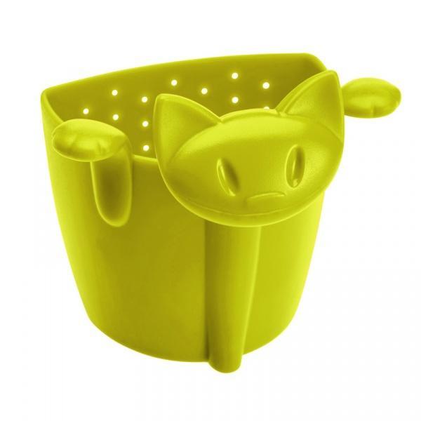 Zaparzaczka do herbaty kotek Koziol Mimmi musztardowa zieleń KZ-3236582