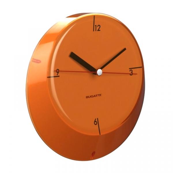 Zegar Casa Bugatti Glamour pomarańczowy GLOU-02190