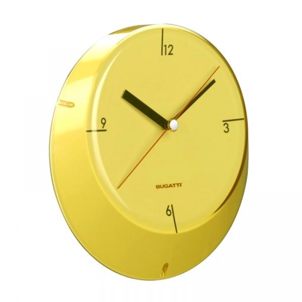 Zegar Casa Bugatti Glamour żółty GL6U-02190