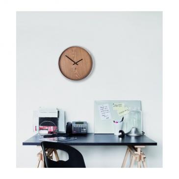 Zegar ścienny 31,8cm Umbra Madera jasnobrązowy