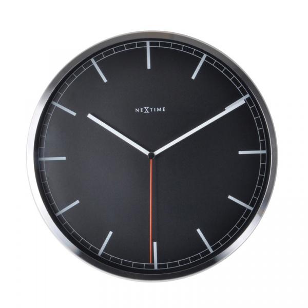 Zegar ścienny 35 cm Nextime Company czarny 3071ZW