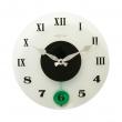 Zegar ścienny 35 cm NeXtime Milano Color biały 8635