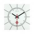 Zegar ścienny 35 cm NeXtime Stazione biały 8636WI