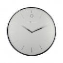 Zegar ścienny 40 cm Nextime Glamour srebrny