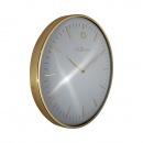 Zegar ścienny 40 cm Nextime Glamour złoty