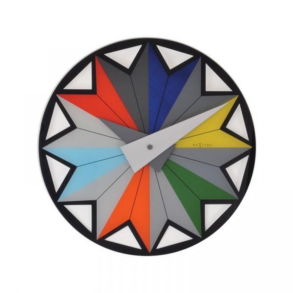 Zegar ścienny 43 cm Nextime Circus 8163