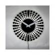 Zegar ścienny 43 cm NeXtime Dreamtime czarny 8182ZW