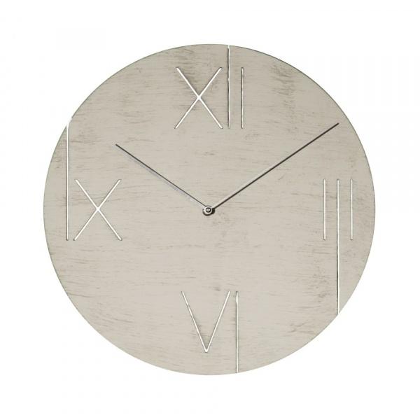 Zegar ścienny 43 cm NeXtime Galileo biały 3104WI
