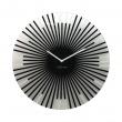 Zegar ścienny 43 cm NeXtime Sticks czarny 8175ZW