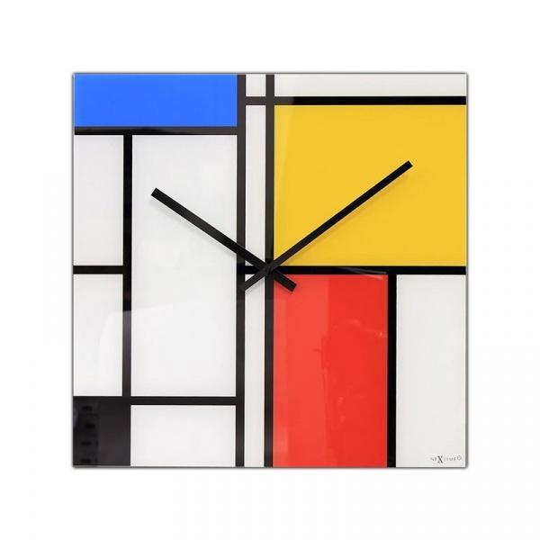 Zegar ścienny 43x43 cm Nextime TimeLines 8156