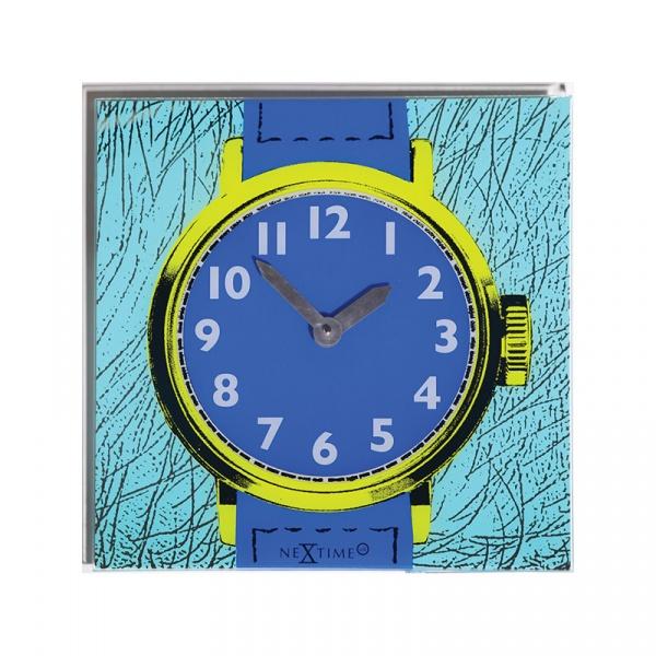 Zegar ścienny 43x43 cm Nextime Watch One 8157