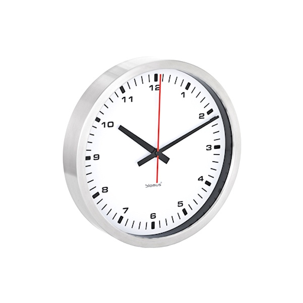 Zegar ścienny Blomus ERA 30 cm biały 63210