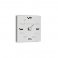 Zegar ścienny Incantesimo Design Aicon biały