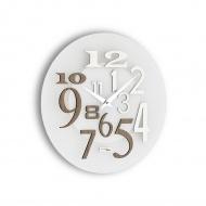 Zegar ścienny Incantesimo Design Free szary