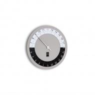 Zegar ścienny Incantesimo Design Hora Sexta szary