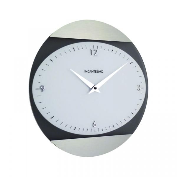 Zegar ścienny Incantesimo Design Logical biały metal 026 MB