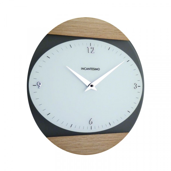 Zegar ścienny Incantesimo Design Logical jesion jasny 026 S