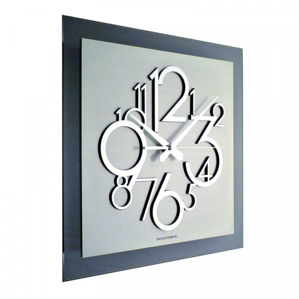 Zegar ścienny Incantesimo Design Metropolis 118 ML