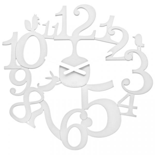 Zegar ścienny Koziol Pi:p biały KZ-2327525
