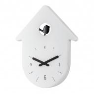 Zegar ścienny Koziol Toc Toc biały