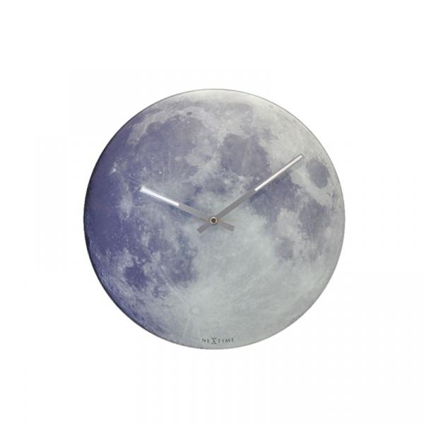 Zegar ścienny Nextime Blue Moon 8634