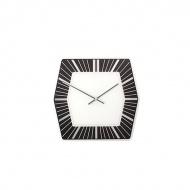 Zegar ścienny Nextime Hexagon czarny