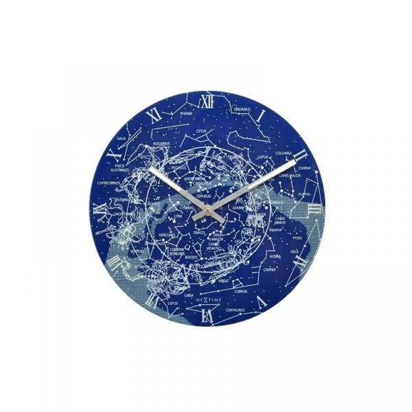 Zegar ścienny Nextime Milky Way 8814