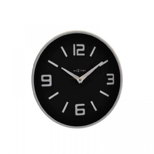 Zegar ścienny Nextime Shuwan czarny 8148ZW