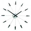 Zegar ścienny Plug inn czarny