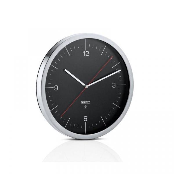 Zegar ścienny sterowany radiowo Blomus Crono czarny 65437