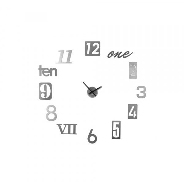 Zegar ścienny Umbra Numbra szary 118430-008