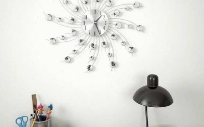 Zegar ścienny z kryształkami - jaki wybrać?
