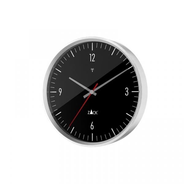 Zegar sterowany radiowo 30 cm Zack Vida czarny ZACK-60076