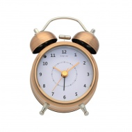 Zegar stojący 12,2 cm NeXtime Wake Up miedziany
