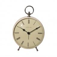 Zegar stojący 17,5 cm NeXtime Charles kremowy