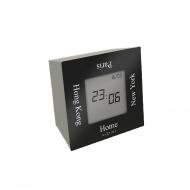 Zegar stojący 7,4 cm NeXtime Turn4Time czarny