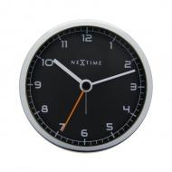 Zegar stojący 9 cm Nextime Company Alarm czarny