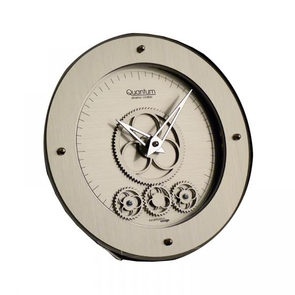 Zegar stołowy okrągły Incantesimo Design Quantum 405 M