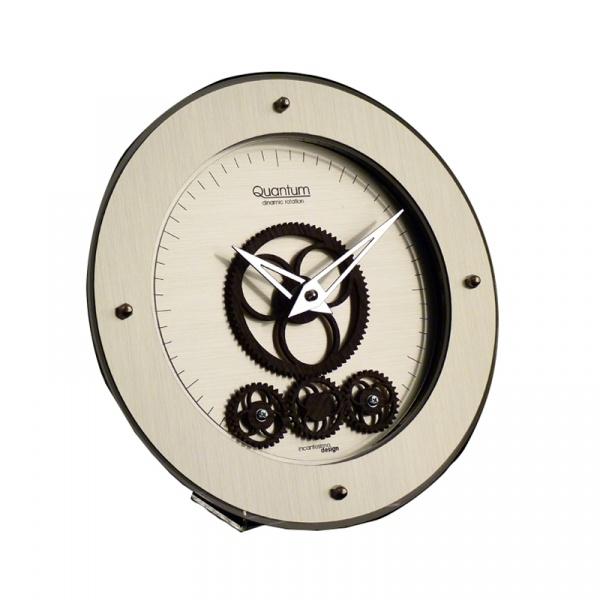 Zegar stołowy okrągły Incantesimo Design Quantum 405 W