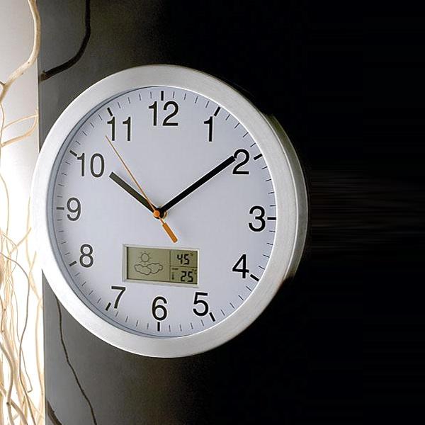 Zegar z pogodynką Brandoni WEATHER CLOCK 59864