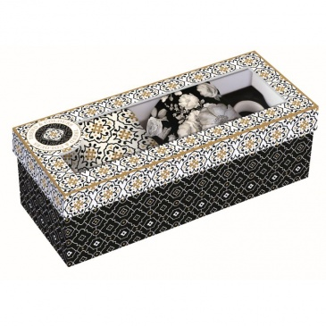 Zestaw 2 kubków z porcelany Nuova R2S Trend & Colours czarny