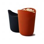 Zestaw 2 pojemników do popcornu Joseph Joseph M-Cuisine pomarańczowy i szary,