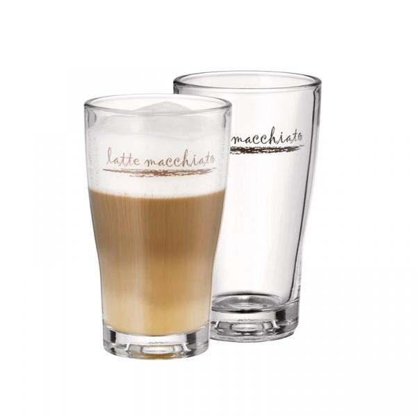 Zestaw 2 szklanek do latte macchiato WMF Barista 0954142040