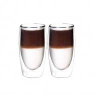 Zestaw 2 szklanek termicznych 350ml Boral przezroczysty