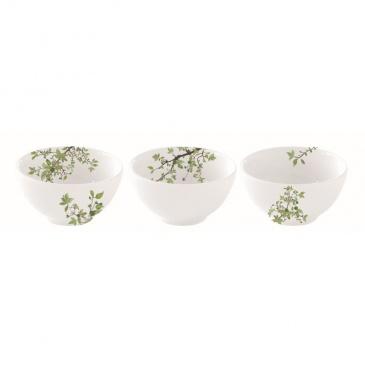 Zestaw 3 miseczek z porcelany Nuova R2S Natura