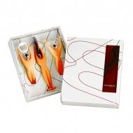 Zestaw 3 przyborów Casa Bugatti GYM pomarańczowy